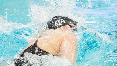 Claire Rasmus A&M Swimming