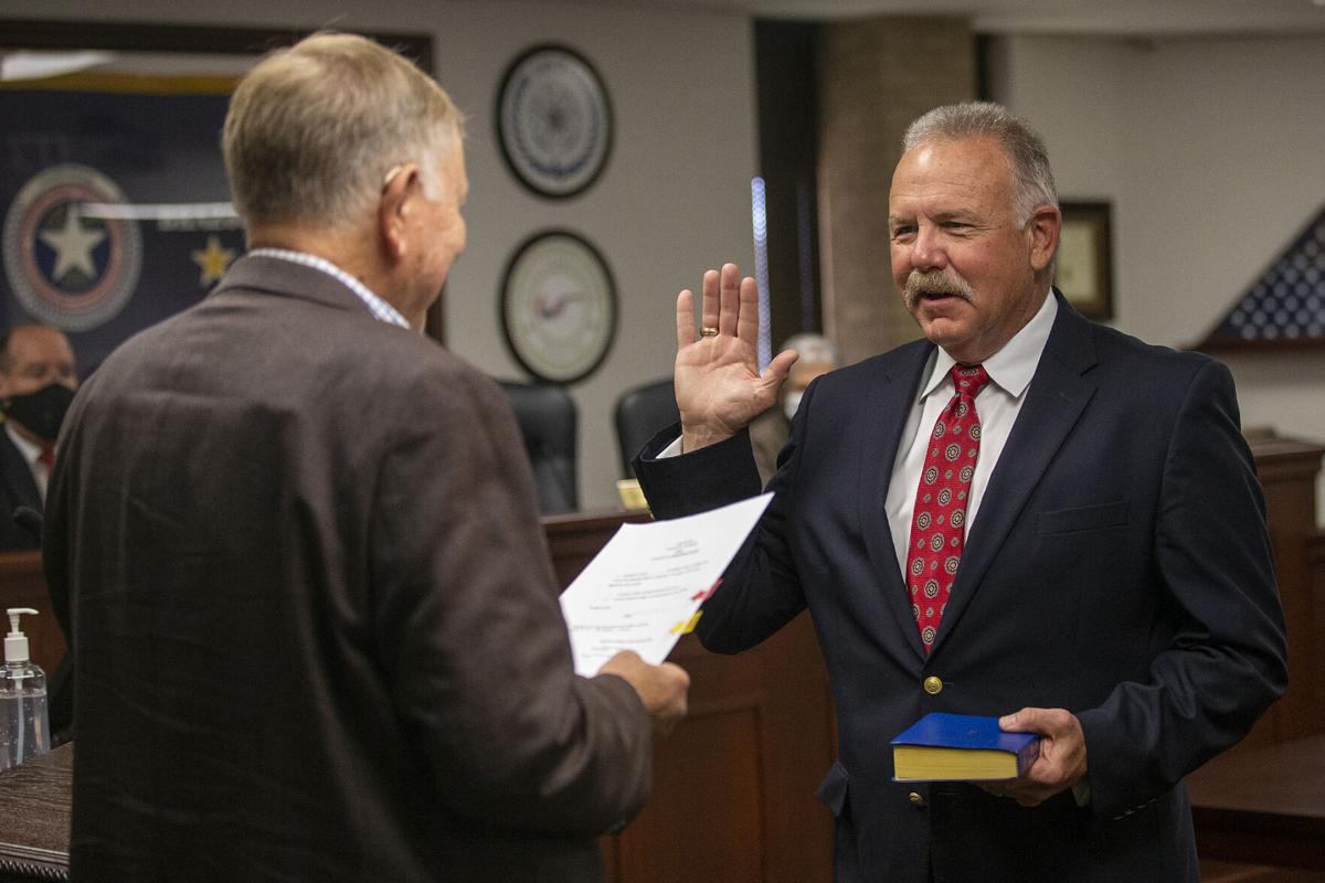 Russ Ford swearing in