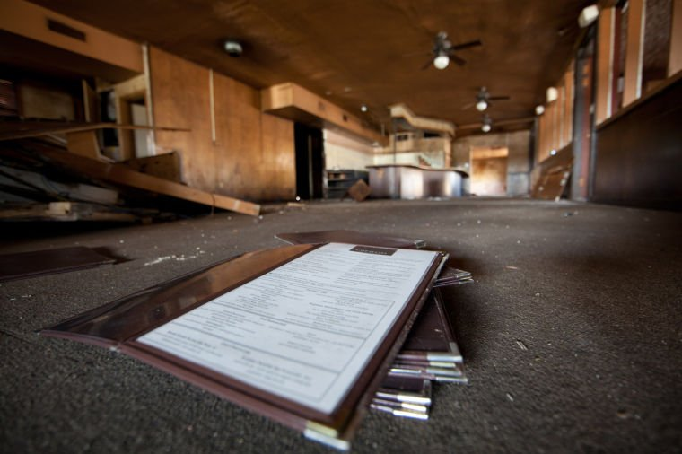 city officials former cafe eccell property found ransacked