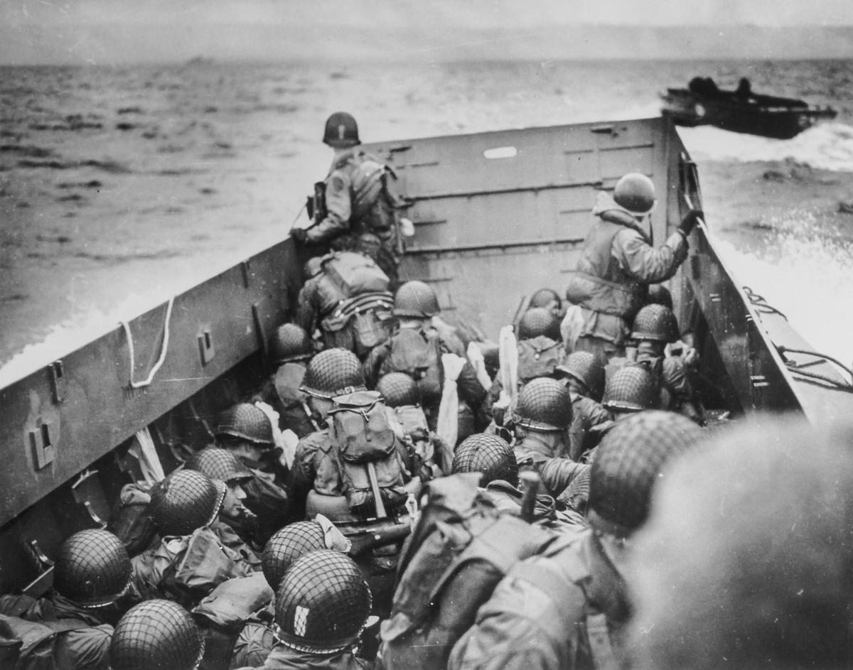 Researcher finds antique audiotape with a dispatch from D-Day