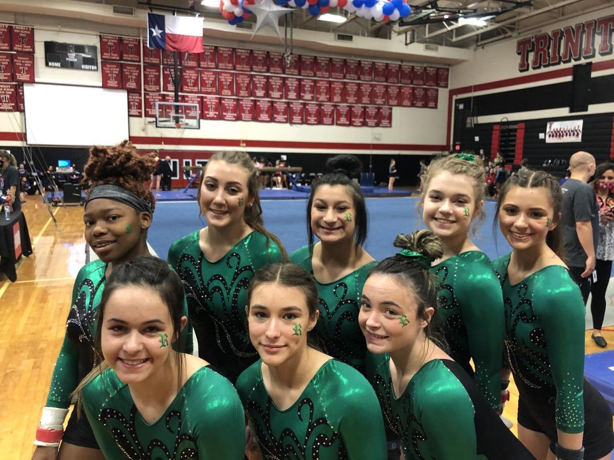Rudder girls gymnastic state meet