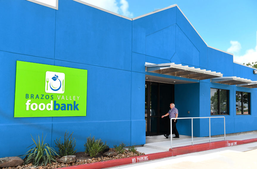 BV Food Bank Ribbon Cutting