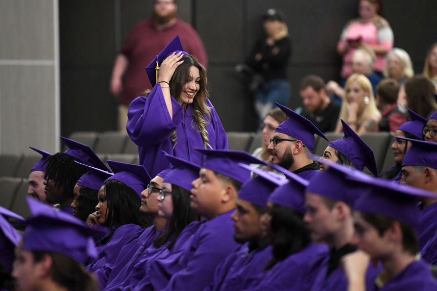 MC Harris graduation