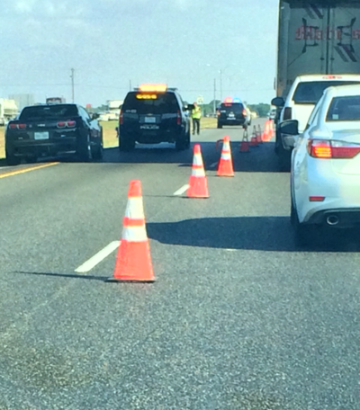 Accident on Texas 6 snarls traffic
