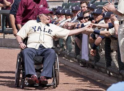 A Former Yale Team Captain President Bush Remained A Lifelong