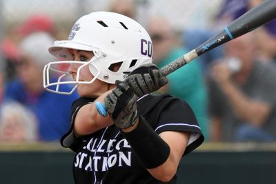College Station vs. Elgin softball