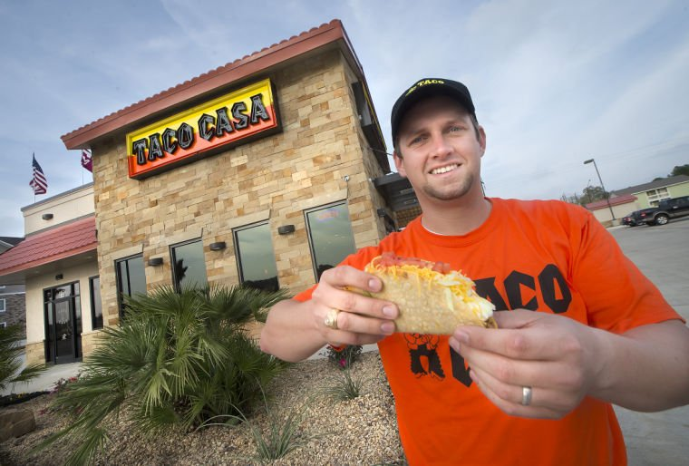 Texas A&M grad opens first Taco Casa franchise in Bryan