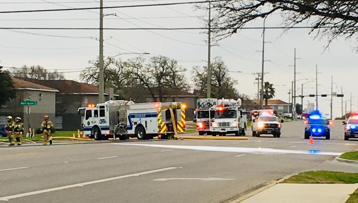 Gas leak, fire prompt evacuation in College Station
