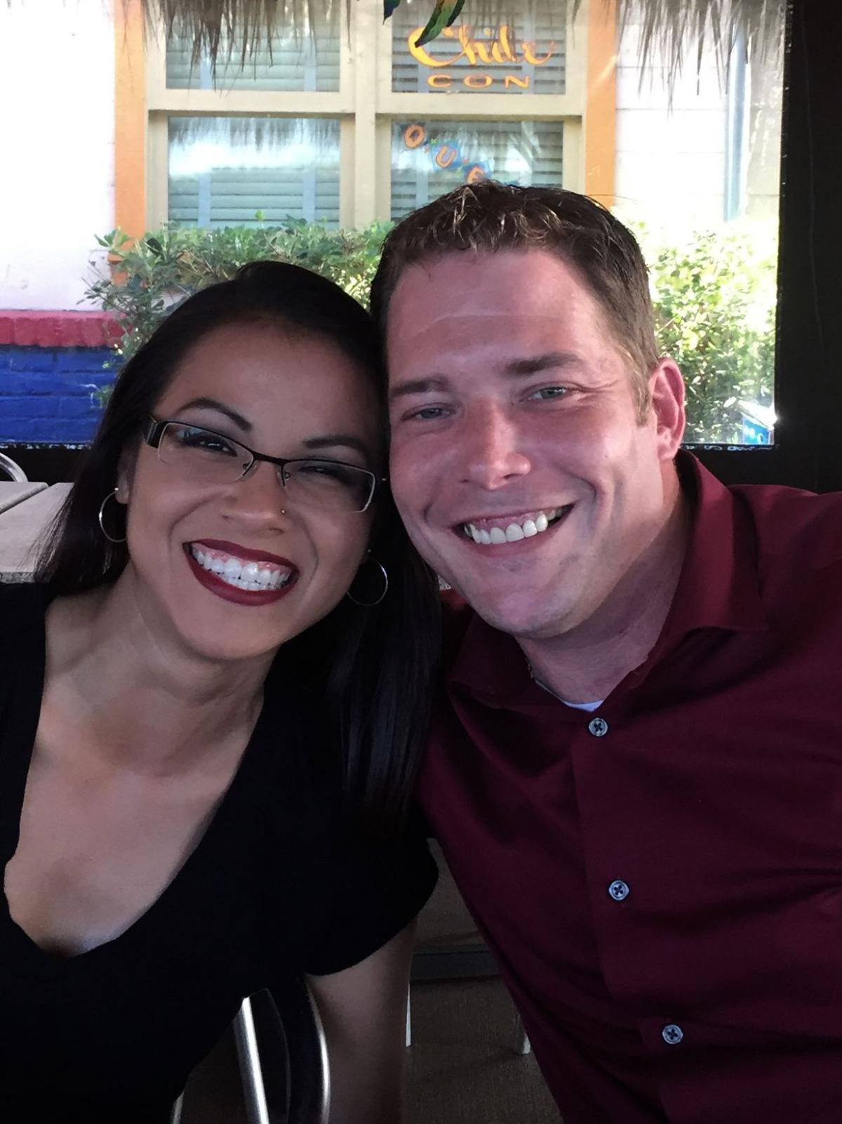 John Comstock and Michelle Munguia