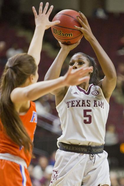 Hillsman Helps Lead Texas A Amp M Women S Basketball Team Past