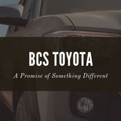 BCS Toyota, Something Different
