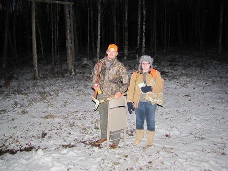 Opening Day Deer Season, Nov. 15, 2010
