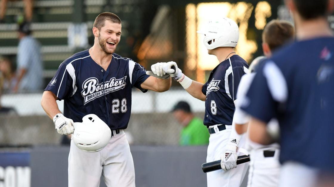 Brazos Valley Bombers clinch TCL South Division title with 11-1 win over Victoria