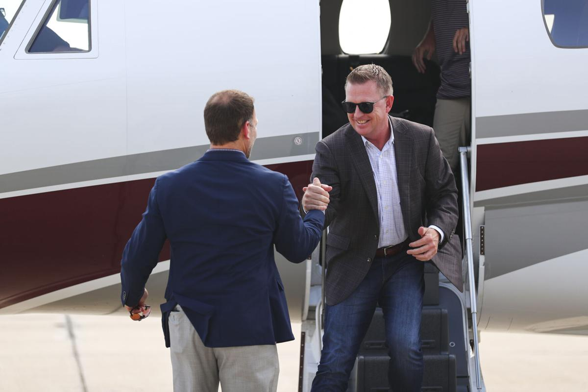 Jim Schlossnagle Arrival