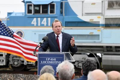 Union Pacific Engine 4141