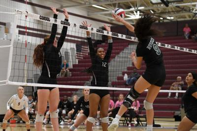 A&M Consolidated vs. Rudder volleyball (copy)