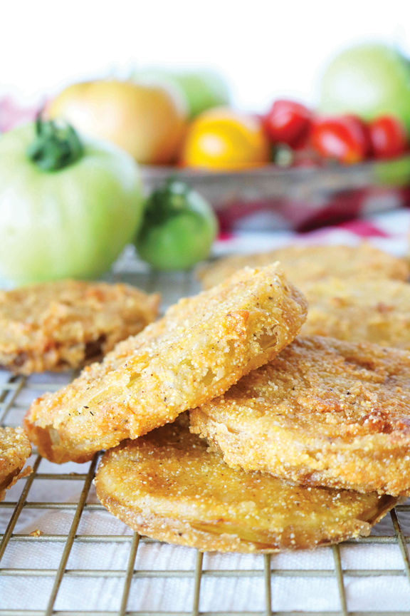 Summer Is The Perfect Time For Fried Green Tomatoes Kelly Anthony