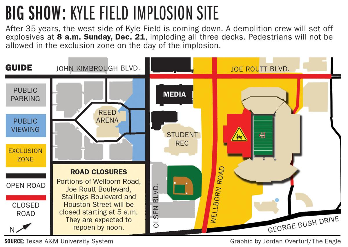 Ams Alan Cannon Shares Memorable Moments At Kyle Field Local Wiring Diagram Implosion Map