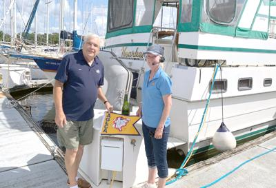 College Station couple completes 6,000-mile journey by boat