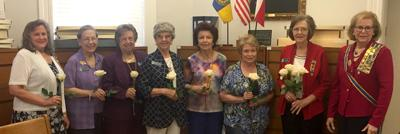 Colonial Dames John Person Chapter introduces new officers