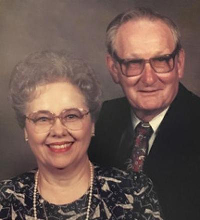 Albert and LaVerne Eberhardt Pivonka 65th Anniversary