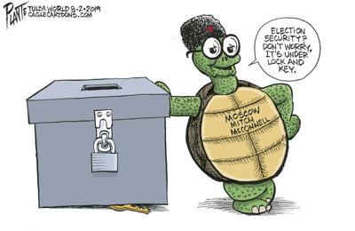 Bruce Plante Cartoon: Moscow Mitch