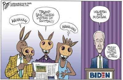 Bruce Plante Cartoon: Uh Oh Joe