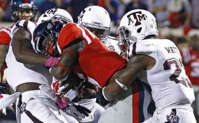 Aggie defense tries to do its part but gets no offensive support