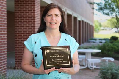 Blinn's Laurie Metcalf named outstanding educator