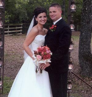 Happy First Anniversary Mandie & Jared Bayer
