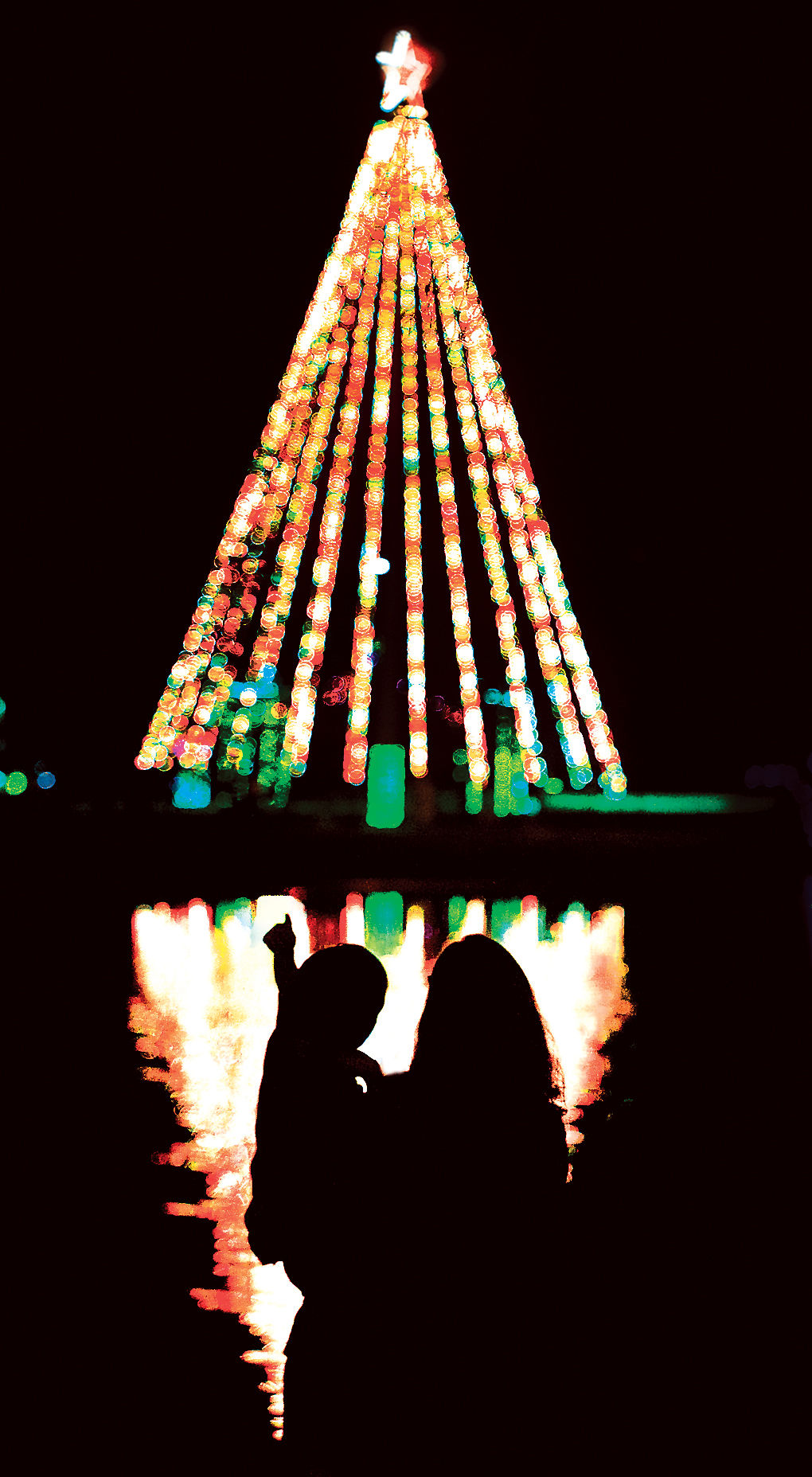 christmas in the park - College Station Christmas Lights Park
