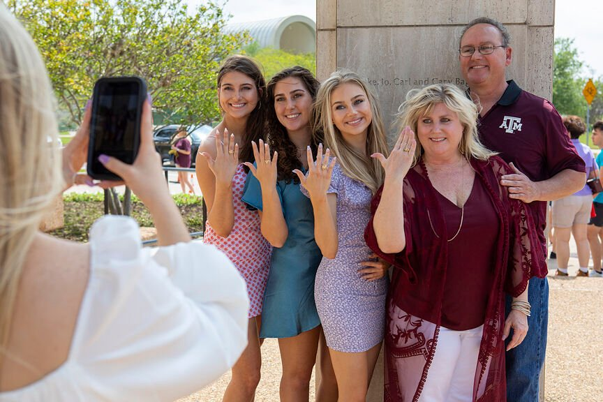 Aggie Ring triplets