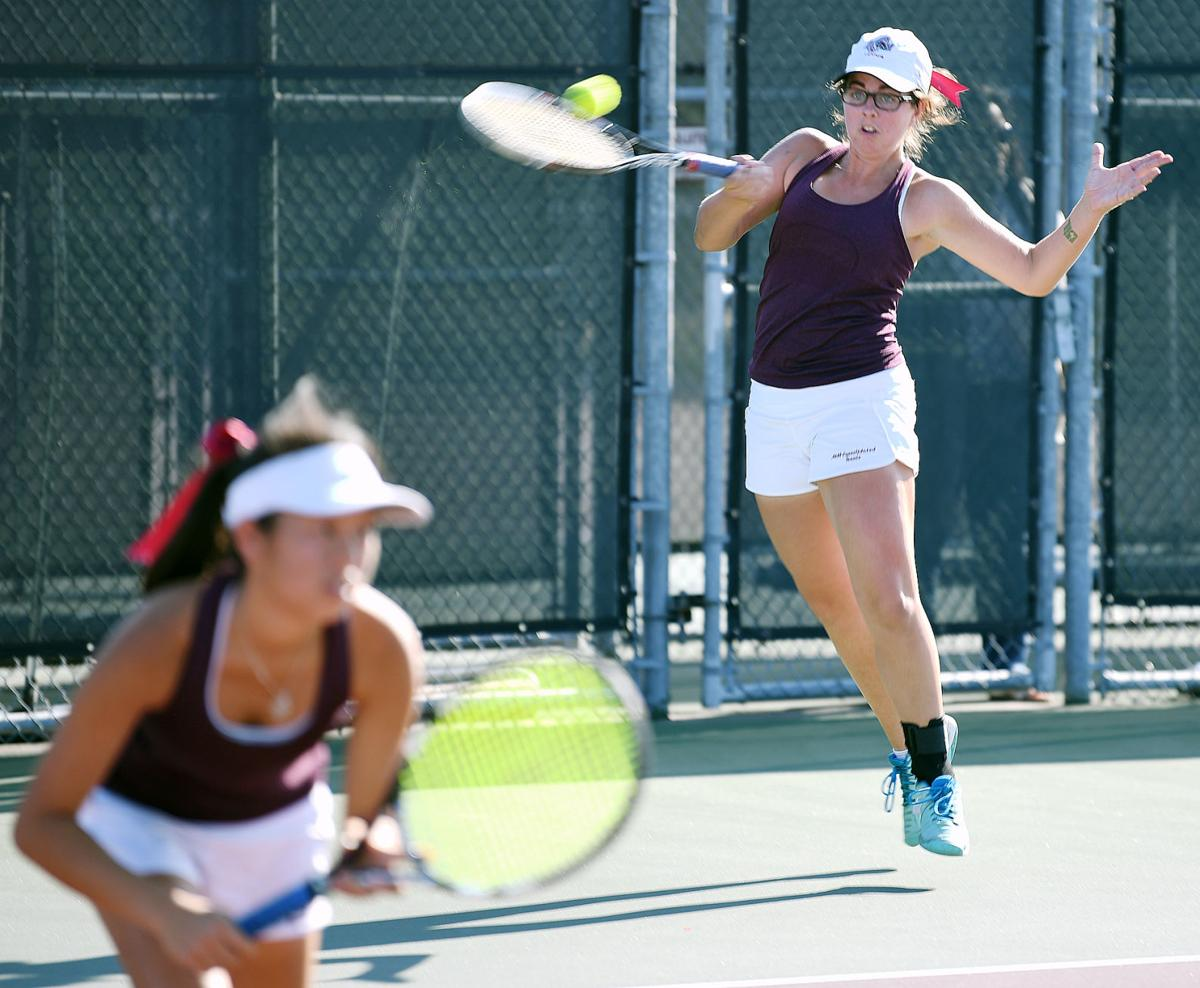 A Amp M Consolidated Tennis Team Loses To Highland Park In