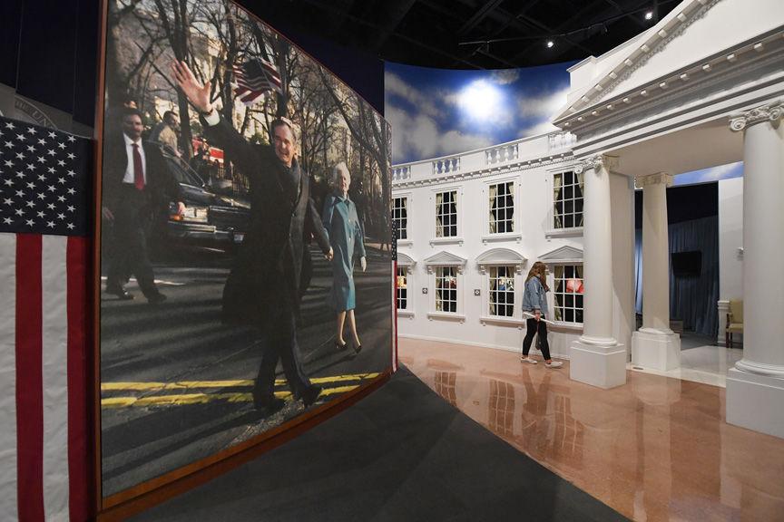 George H W Bush Library Partially Open Amid Government Shutdown