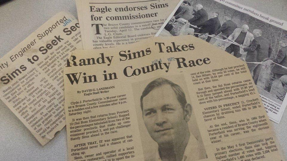 Former Brazos County Judge Randy Sims Dies Texas A Amp M