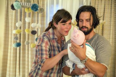 How did 'This Is Us' break the broadcast curse in the Emmy best drama category?