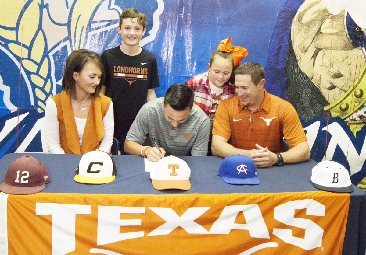 Local athletes sign national letters of intent Wednesday