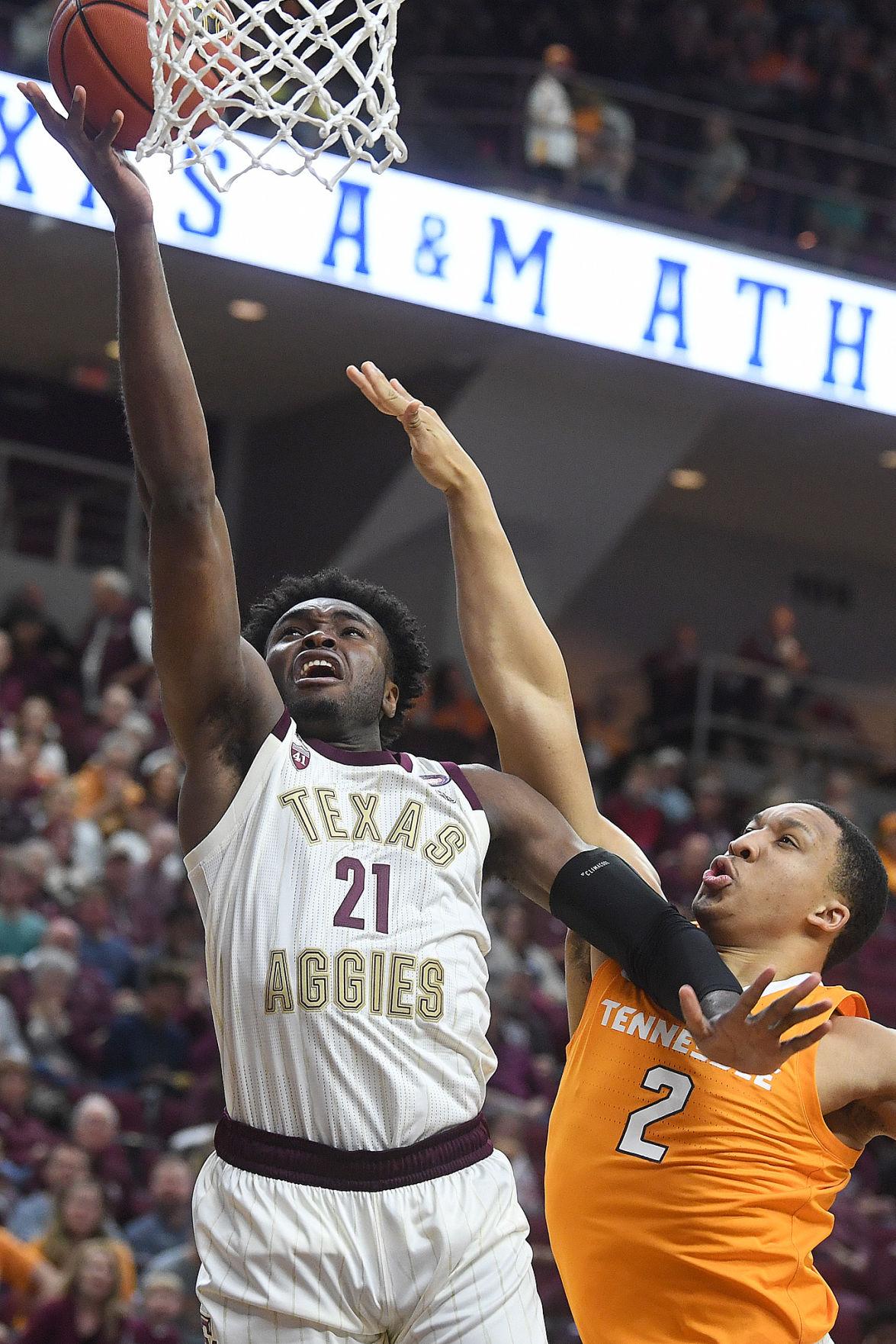 Texas A&M vs. Tennessee men's basketball