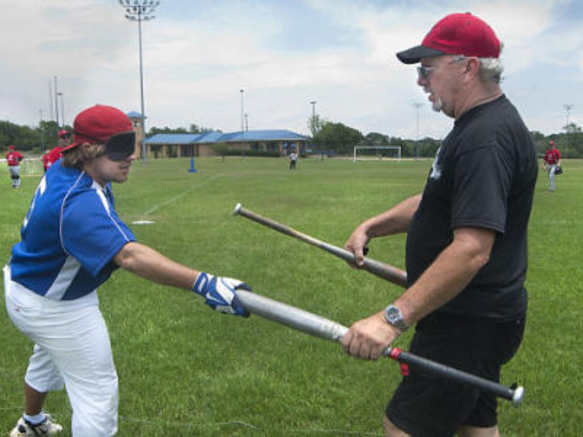 Bcs Outlaws Host First Beep Baseball Tournament For Blind And Visually Impaired Local News Theeagle Com