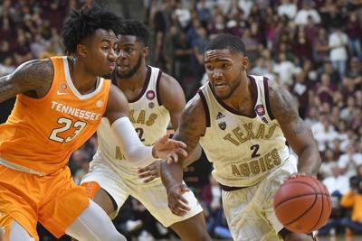 Texas A&M guard TJ Starks suspended indefinitely