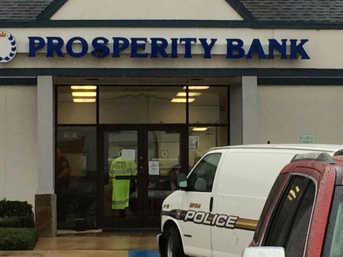 Bryan police investigate reported carjacking, bank robbery