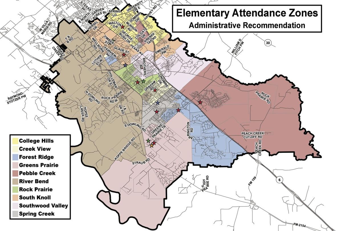 College Station Isd Calendar 2021-2022 College Station ISD board gets look at zoning changes for new