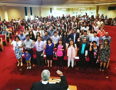 123 naturalized in Brazos County   Local News   theeagle com
