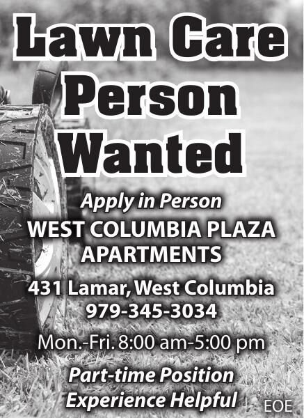 Lawn Care Person Wanted