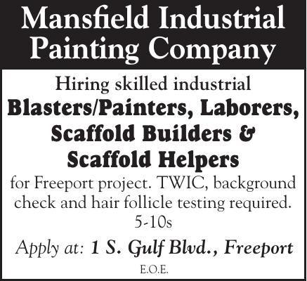 Mansfield Industrial Now Hiring