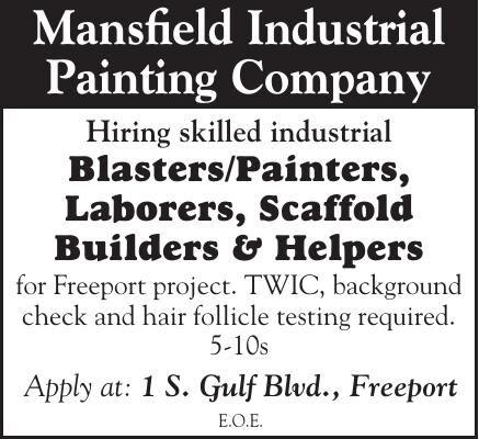 Mansfield Industrial Hiring Skilled Workers