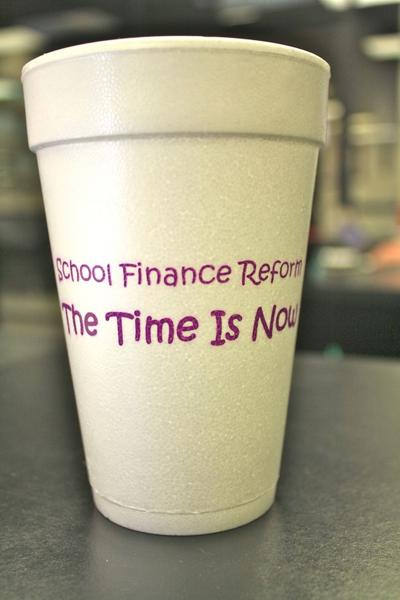 Finance reform cup