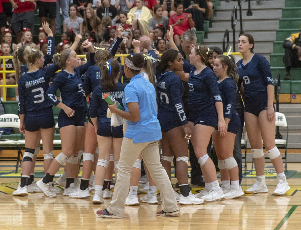 Brazoswood vs Clear Brook Volleyball