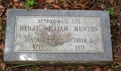 Munson grave