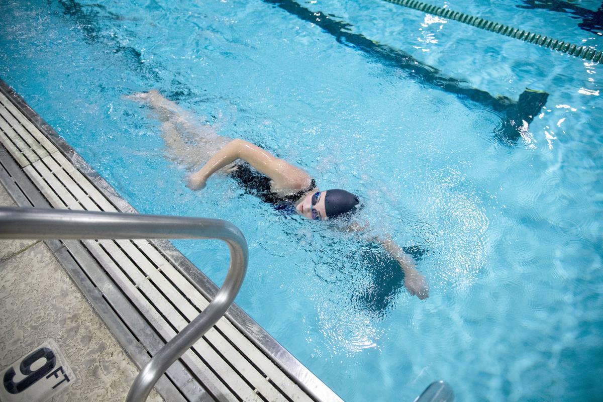 Sweeny swimmer Gracie Bible